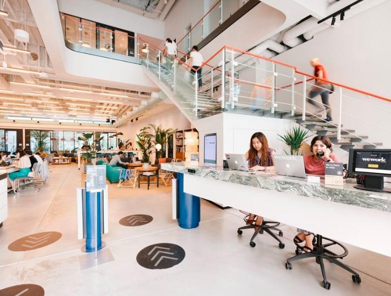 WeWork 原宿アイスバーグ(iceberg)のオフィス内部の画像2