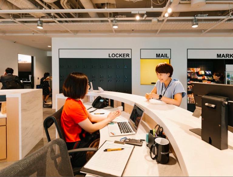 WeWork《日比谷パークフロント》のオフィス内部の画像2