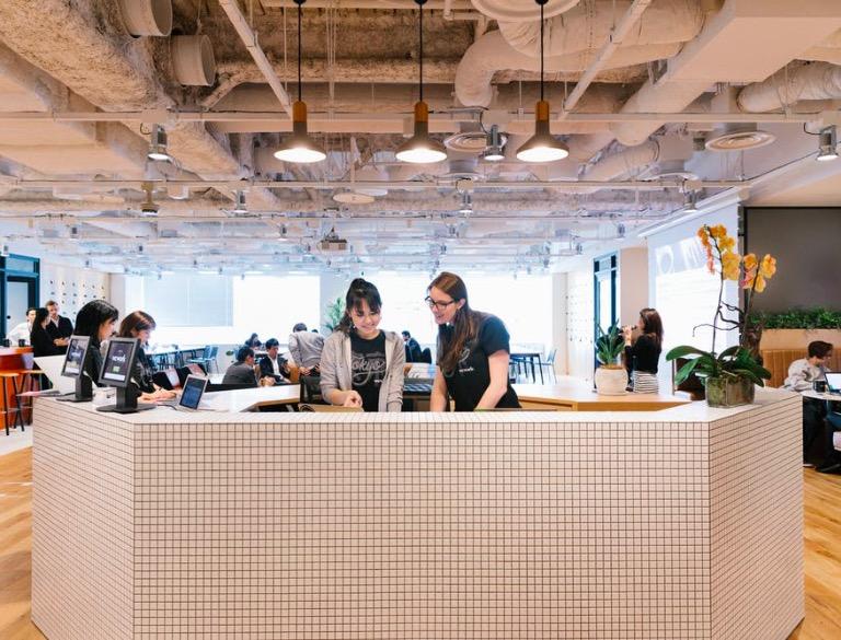 WeWork《丸の内北口》のオフィス内部の画像2