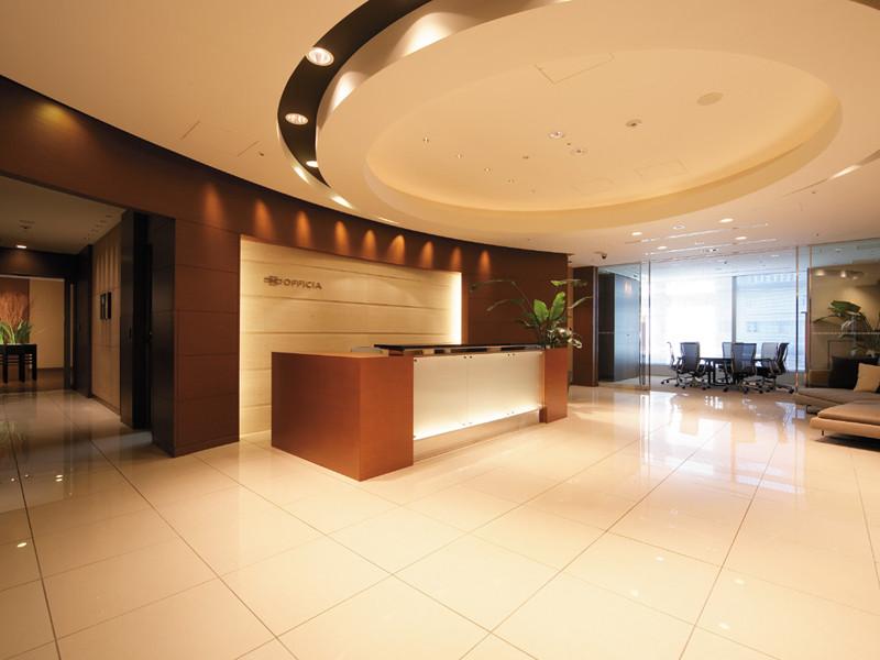 リージャス《汐留》のオフィスの画像、フロント