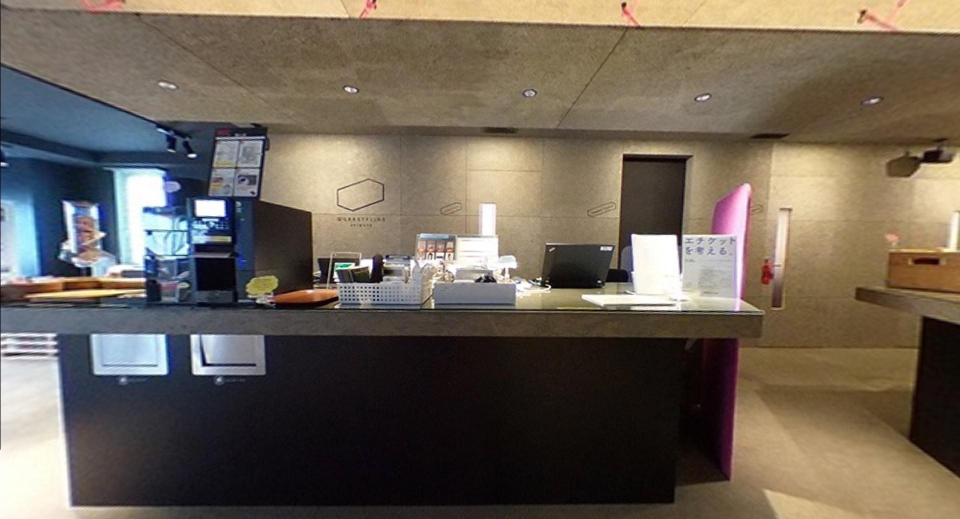 ワークスタイリング霞が関のオフィス内部の画像「ドリンクバー」