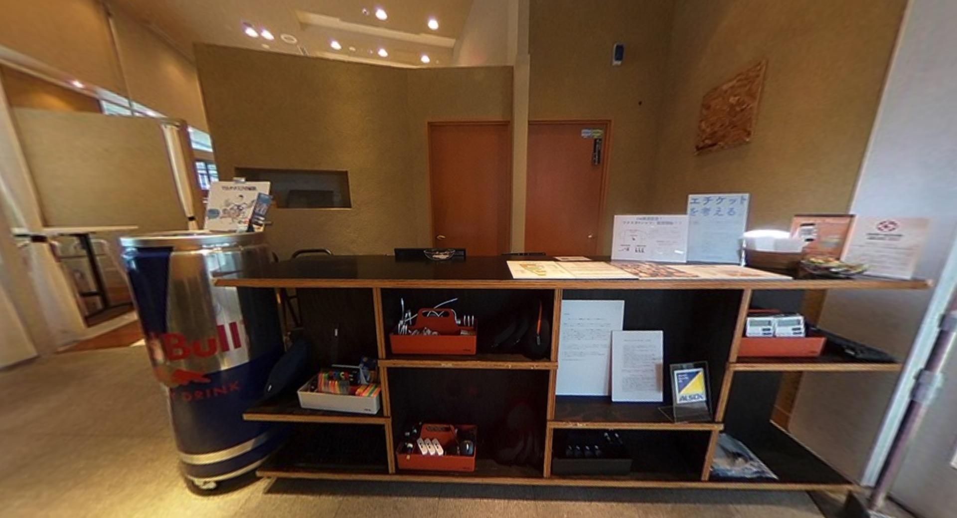 ワークスタイリング汐留のオフィス内部の画像「フロント」