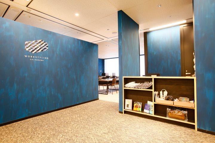 ワークスタイリング品川グランドセントラルタワーのオフィス内部の画像「フロント」